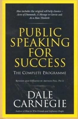 Buy PUBLIC SPEAKING FOR SUCCESS: Book