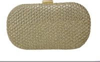 Balee Fashions Women Party Gold Tiki  Clutch
