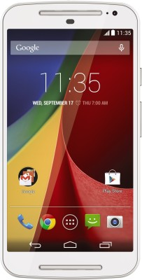 Moto G 2nd Gen White, with 16 GB Android smart phone