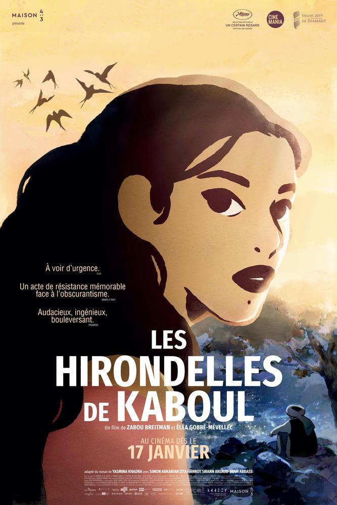 Les Hirondelles De Kaboul Critique : hirondelles, kaboul, critique, HIRONDELLES, KABOUL, (2020), Cinoche.com