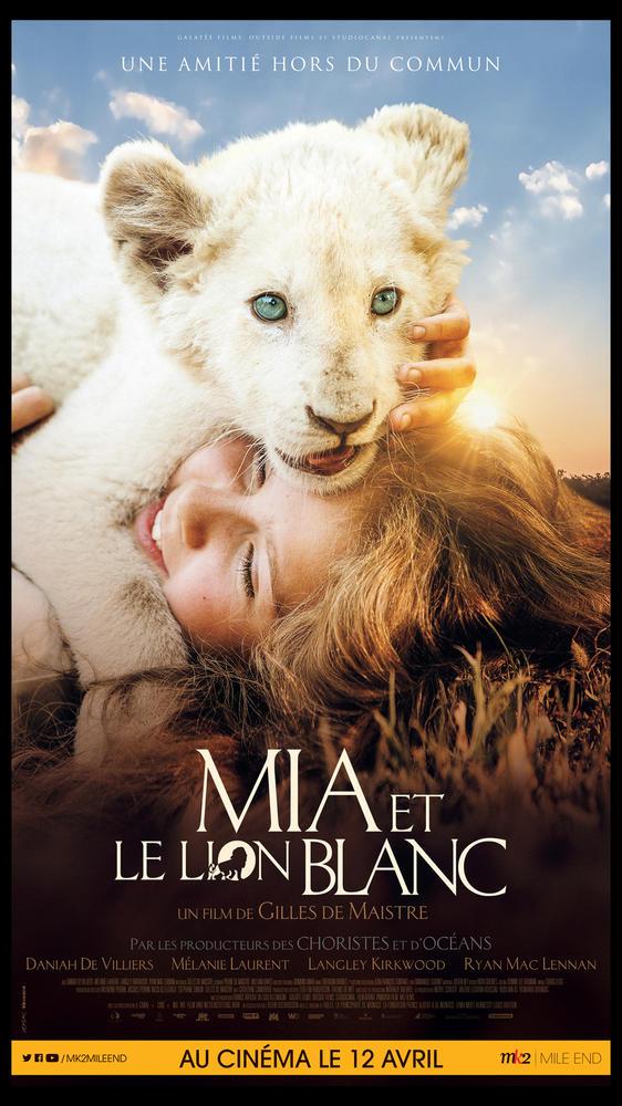 Mia Et Le Lion Blanc Critique : blanc, critique, BLANC, (2019), Cinoche.com