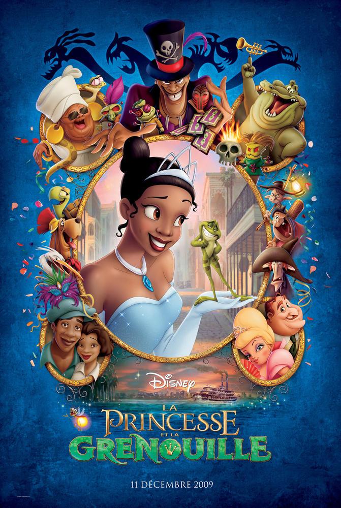 La Princesse Et La Grenouille Film : princesse, grenouille, PRINCESSE, GRENOUILLE, (2009), Cinoche.com
