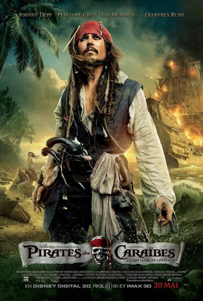 Pirates Des Caraibes La Fontaine De Jouvence : pirates, caraibes, fontaine, jouvence, PIRATES, CARAÏBES, FONTAINE, JOUVENCE, (2011), Cinoche.com