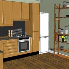 Complete Kitchen Beautiful Islands 现代详细完整的厨房su模型 原创