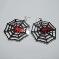 Fashion Spider Web Shaped Metal Earrings_Earring_Jewellery ...