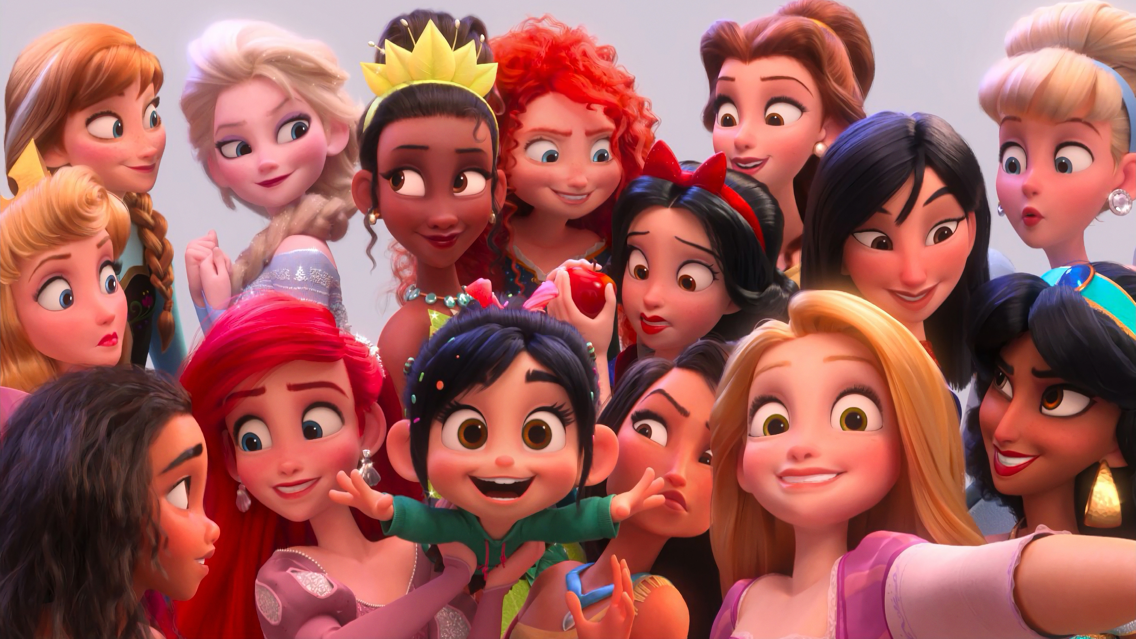Cute Wallpaper Backgraounds Vanellope Disney Princess Ralph Breaks The Internet Wreck