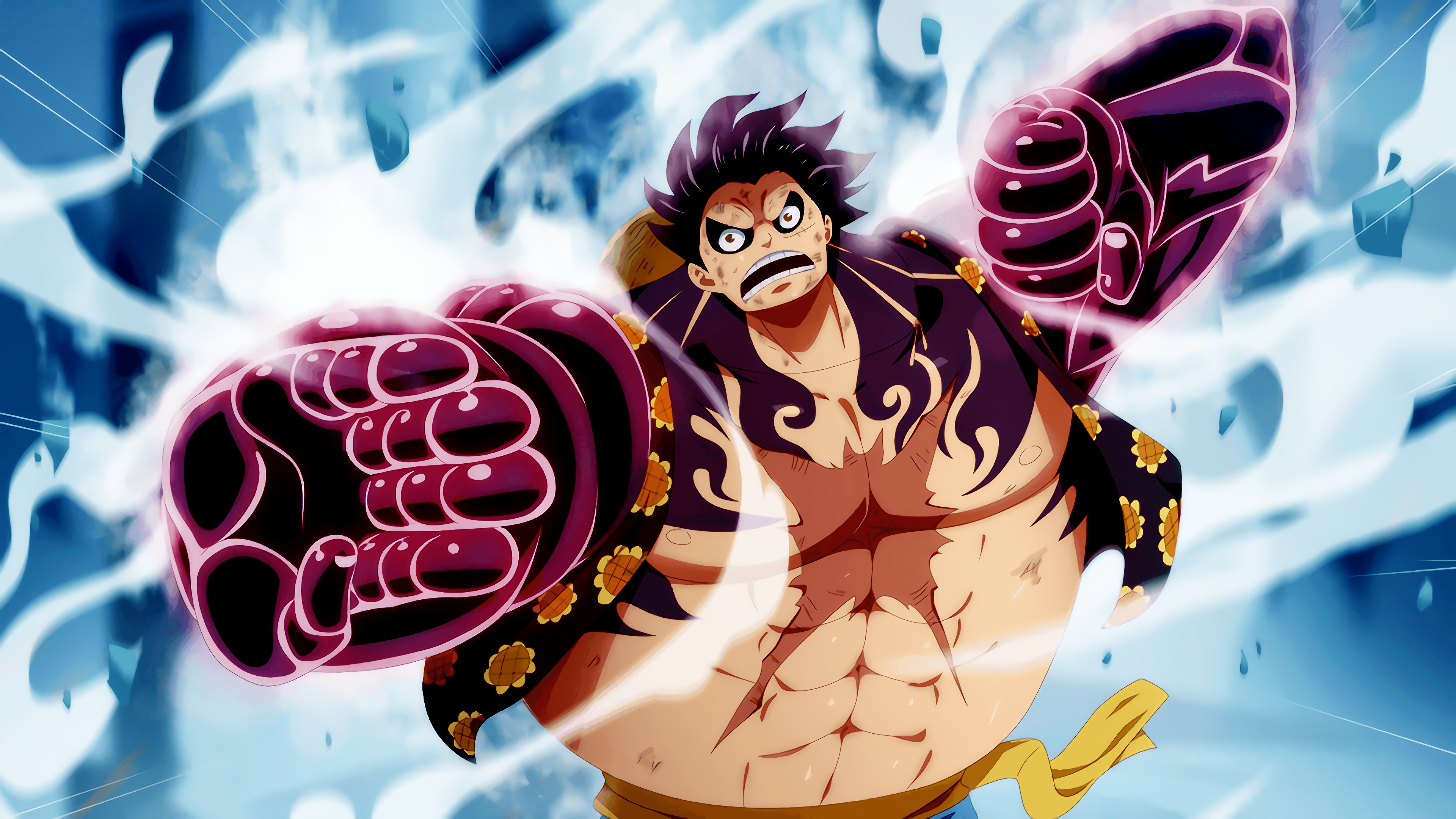 Luffy gear 4 wallpapers (75+ background pictures). Monkey D Luffy 4k 8k Hd One Piece Wallpaper