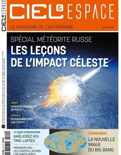 Ciel & Espace N°515 Avril 2013