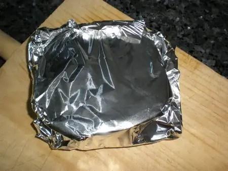 Rodaja de batata envuelta