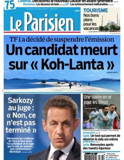 Le Parisien Samedi 23 Mars 2013