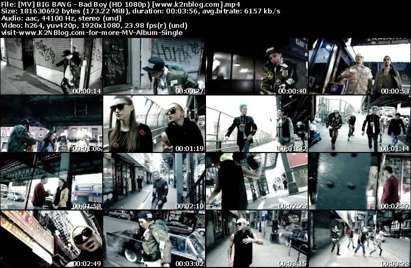 MV] BIG BANG – BAD BOY (HD 1080P YOUTUBE) | Purple of Sona