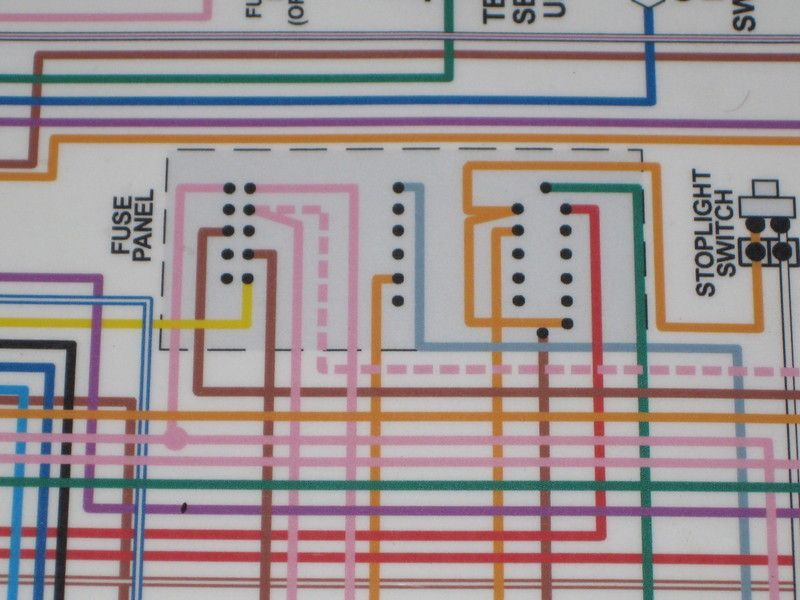 1968 Mercury Fuse Box Diagram 1968 Circuit Diagrams