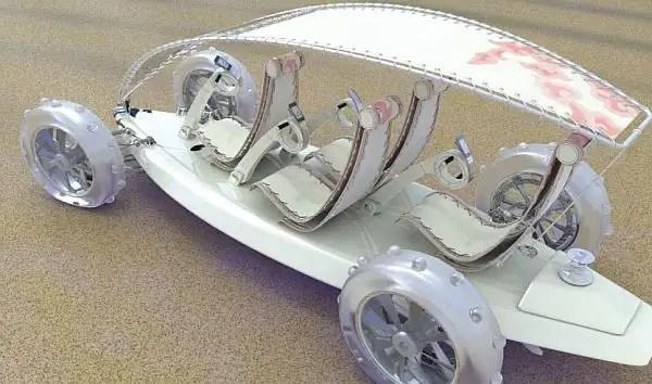 d85f7f9169b59340a905a2e - SandYou un Concept Car eléctrico, anfibio y con forma de tabla de surf