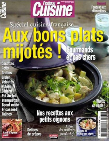 Pratique Cuisine N°68 Janvier Fevrier Mars 2013