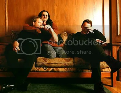 Alex Lifeson (guitar), Geddy Lee (bass/vocals) and Neil Peart (drums)