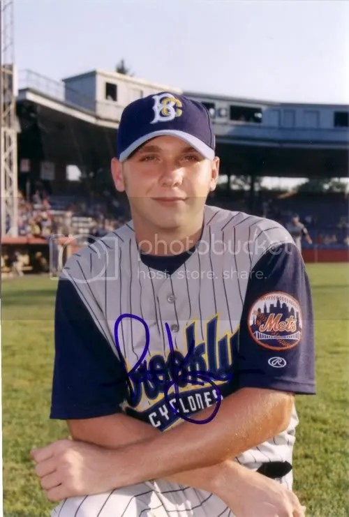 It really pains me to see the Mets patch on his sleeve, but apparently hes overcome the burden of having once played for such a recently unimpressive organization.
