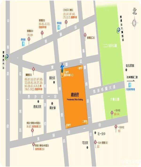 臺北總統府交通路線-臺北市旅遊攻略-Hopetrip旅遊網