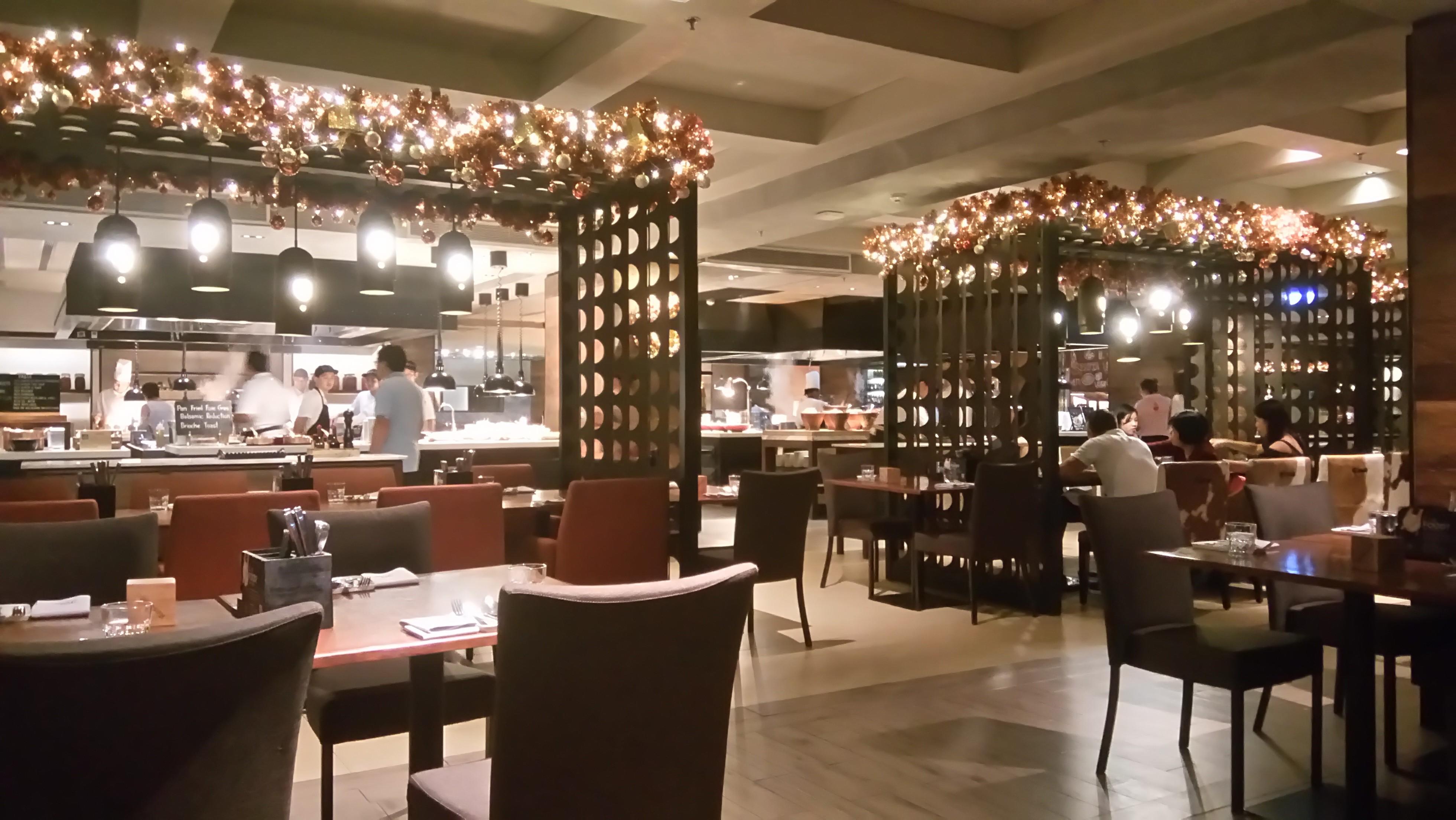 曼谷萬豪馬奎斯酒店Goji Kitchen & Bar自助晚餐-曼谷自助餐-Hopetrip旅遊網
