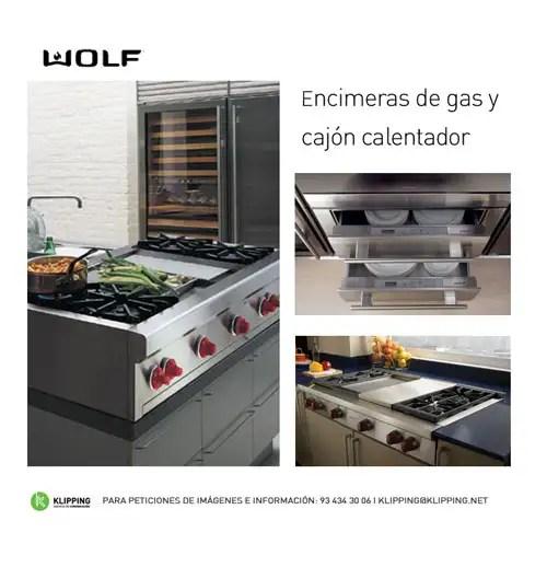 WOLF, nuevo cajón calentador y encimera de gas