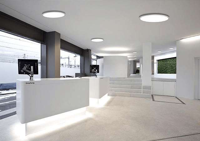 square and round led panel lights