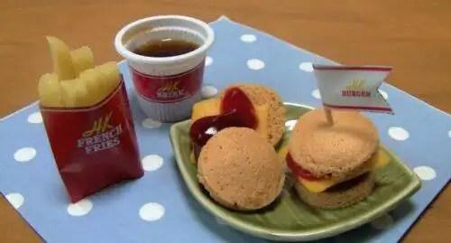 hamburguesapolvo46 - Mini Hamburguesas en polvo un invento asiático