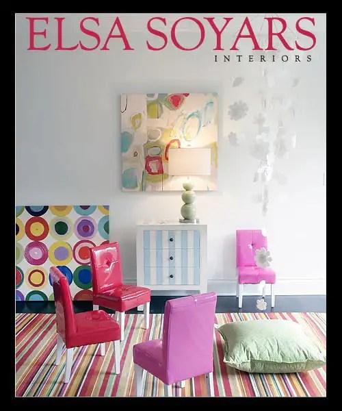 Elsa Soyars, interiorismo