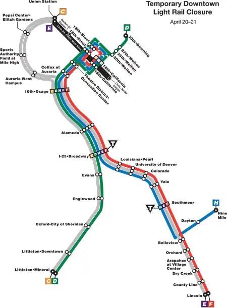 Rtd Light Rail Schedule