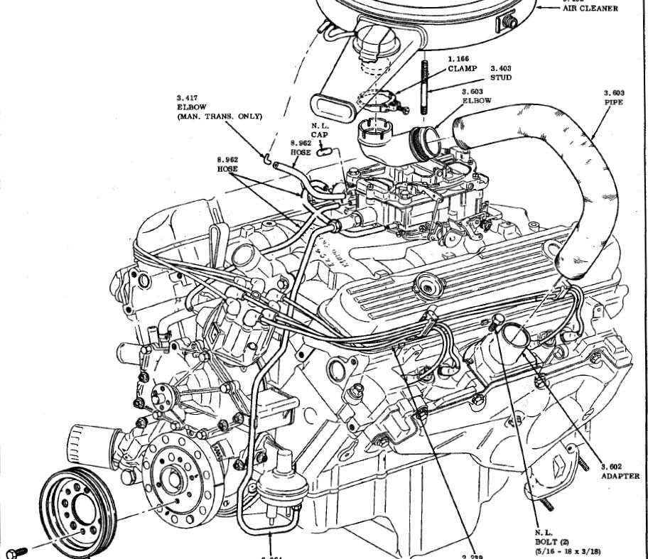 1983 Pontiac Firebird Belt Diagram, 1983, Free Engine