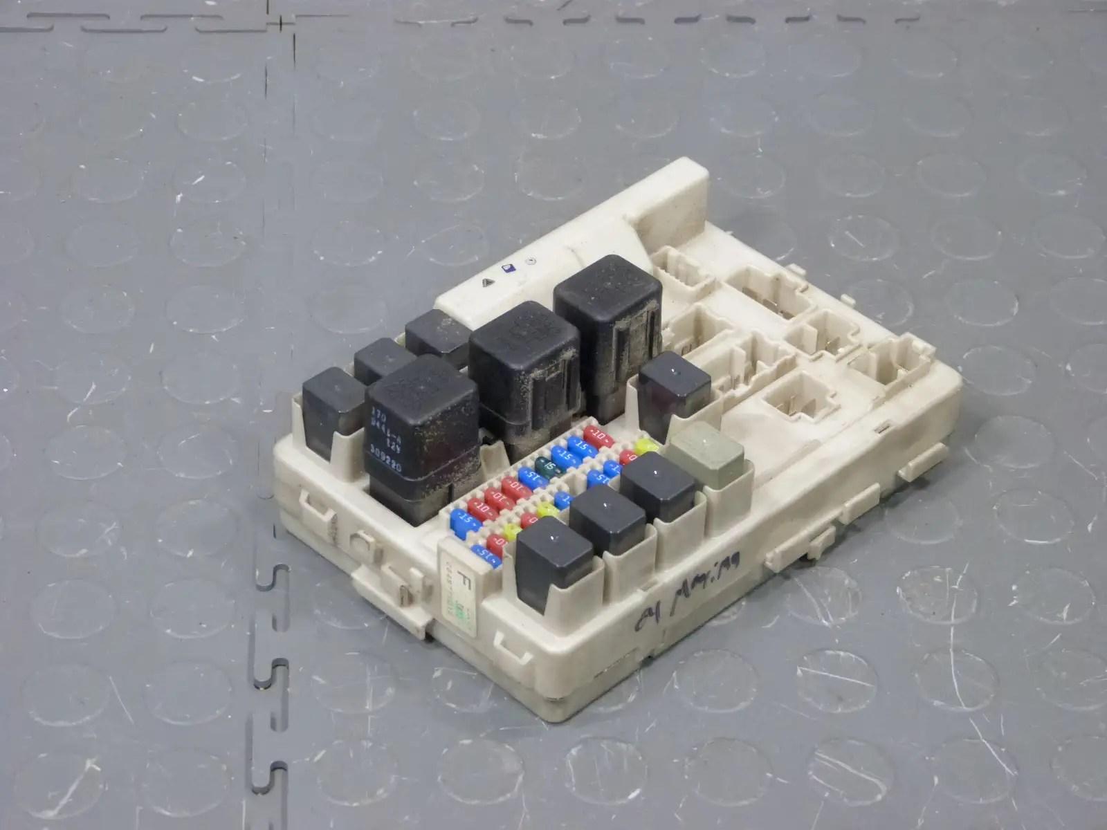 hight resolution of 04 06 nissan maxima ipdm bcm body control module underhood 2006 nissan maxima fuse box 2006
