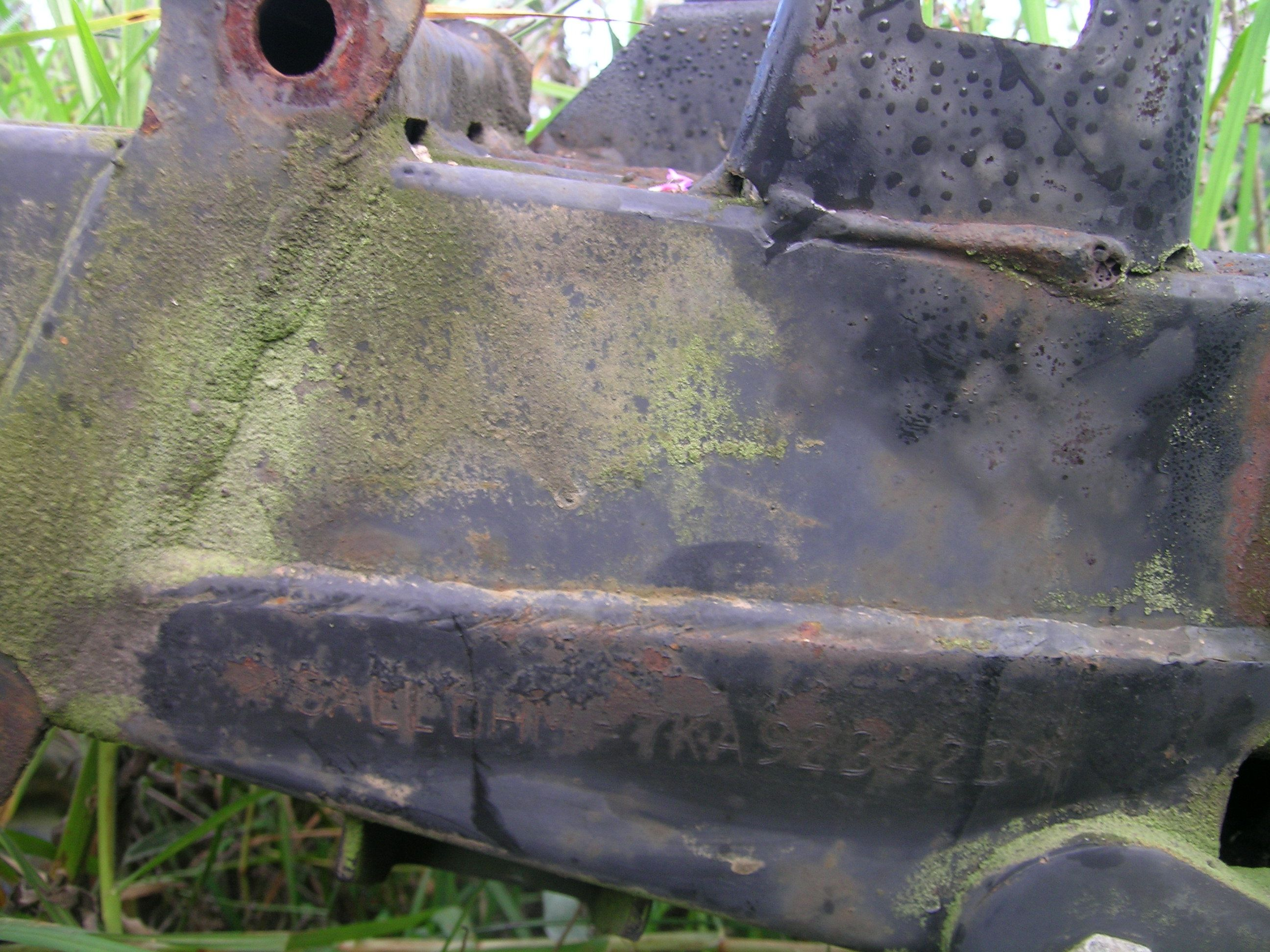 How to check your Landy chassis number