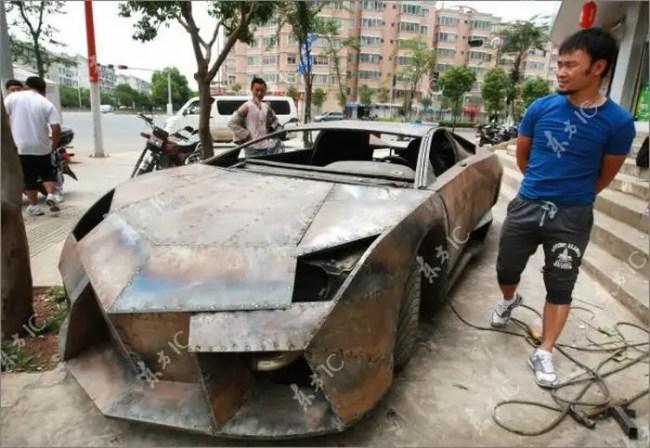 005nx - Chino Entusiasta construye Lamborghini Reventon