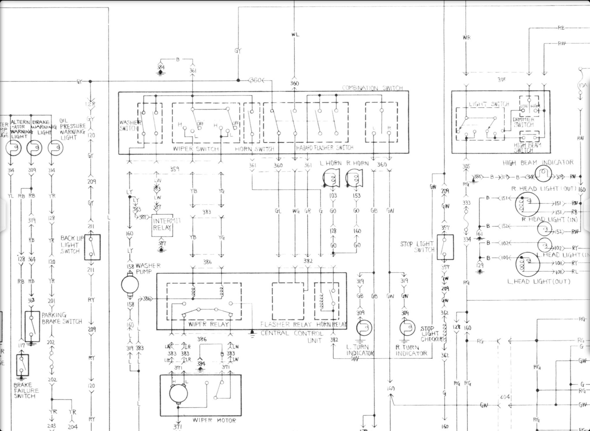 hight resolution of rx4 register and records page 136 ausrotary vactor wiring diagrams mazda rx4 wiring diagram