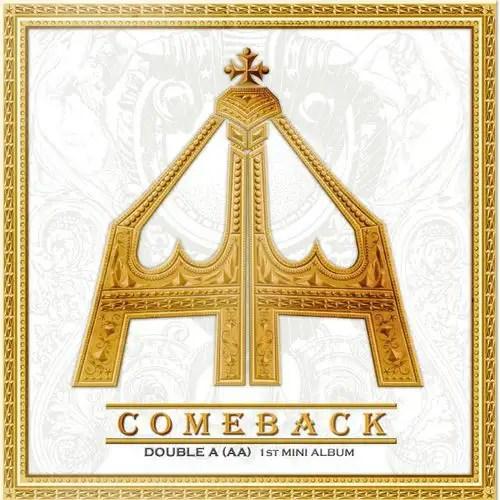 [Mini Album] Double A (AA) - Come Back [1st Mini Album]