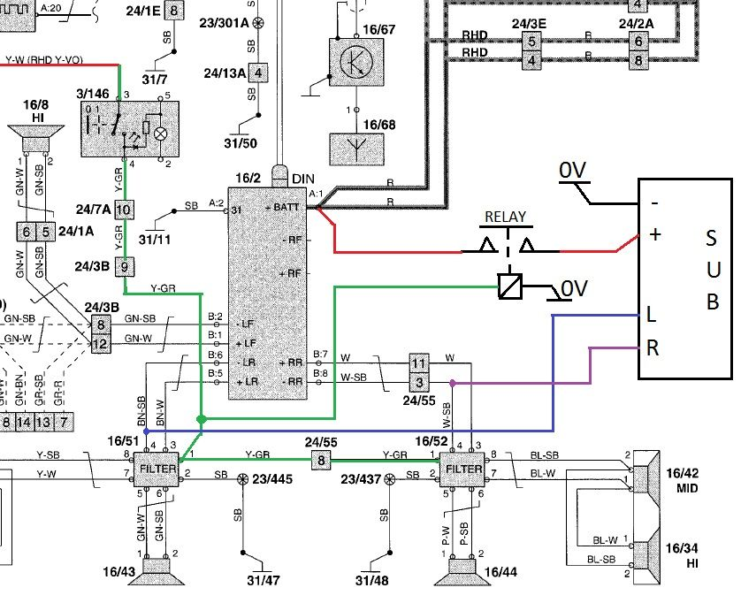 F150 Headlight Wiring Diagram. F150. Free Wiring Diagrams