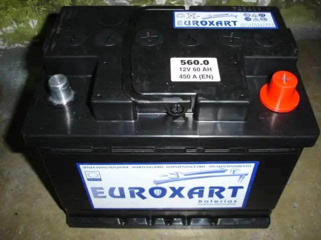 batería de coche
