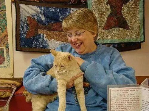 alcaldegato18 - El alcalde de un pueblo de Alaska es un gato (un gato de verdad)