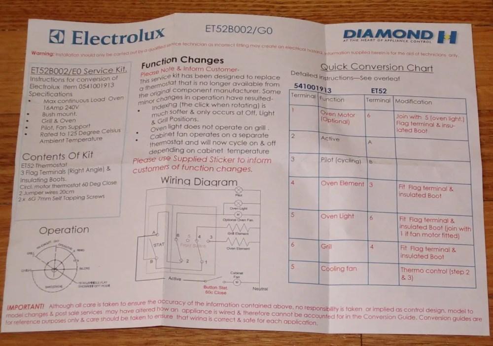medium resolution of instruction sheet wiring diagram