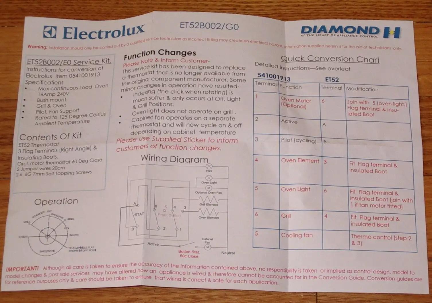 hight resolution of instruction sheet wiring diagram
