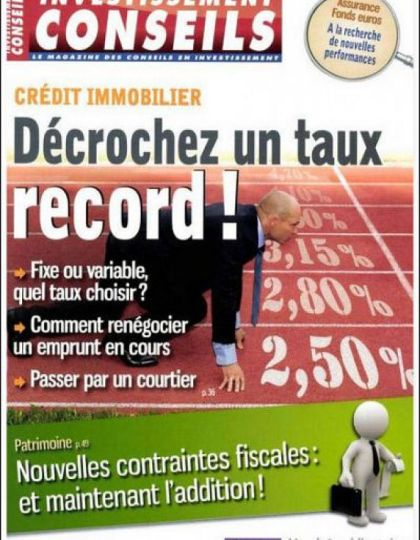 Investissement Conseils N°754 Janvier 2013