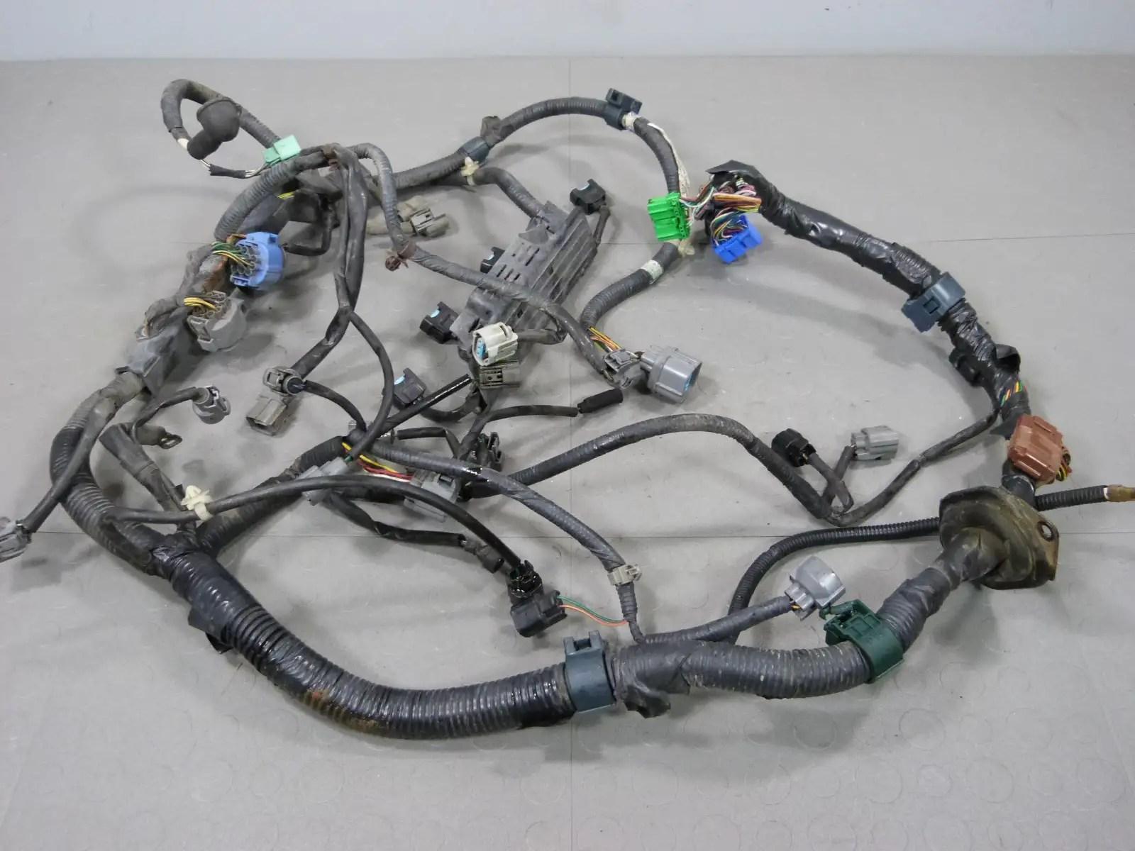 vtec wiring diagram obd2 goodman 99 00 honda civic ex sohc d16y8 auto engine wire