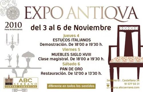 Invitación EXPO ANTIQVA