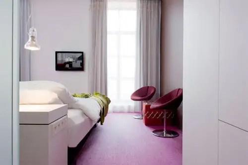 Maset, iluminación (Hotel Heburon)