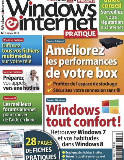 Windows & Internet Pratique N°3 Mai 2013