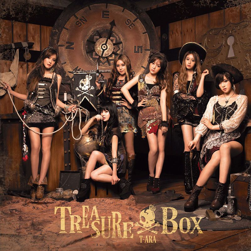 [Album] T-ara - Treasure Box [Japanese] (MP3)