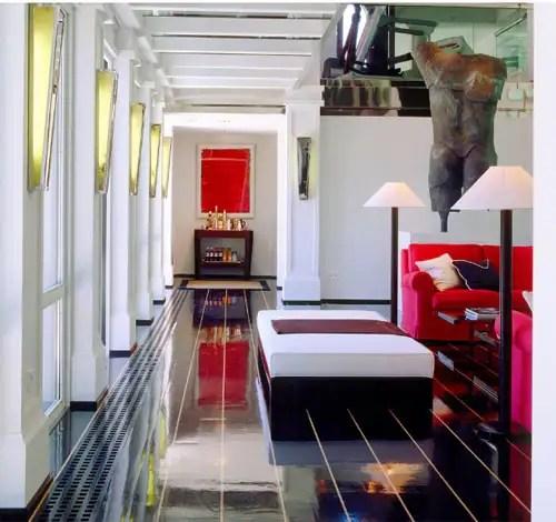 Luis Bustamante, arquitectura de interiores