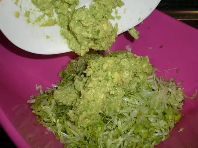 Elaborar el paté verde