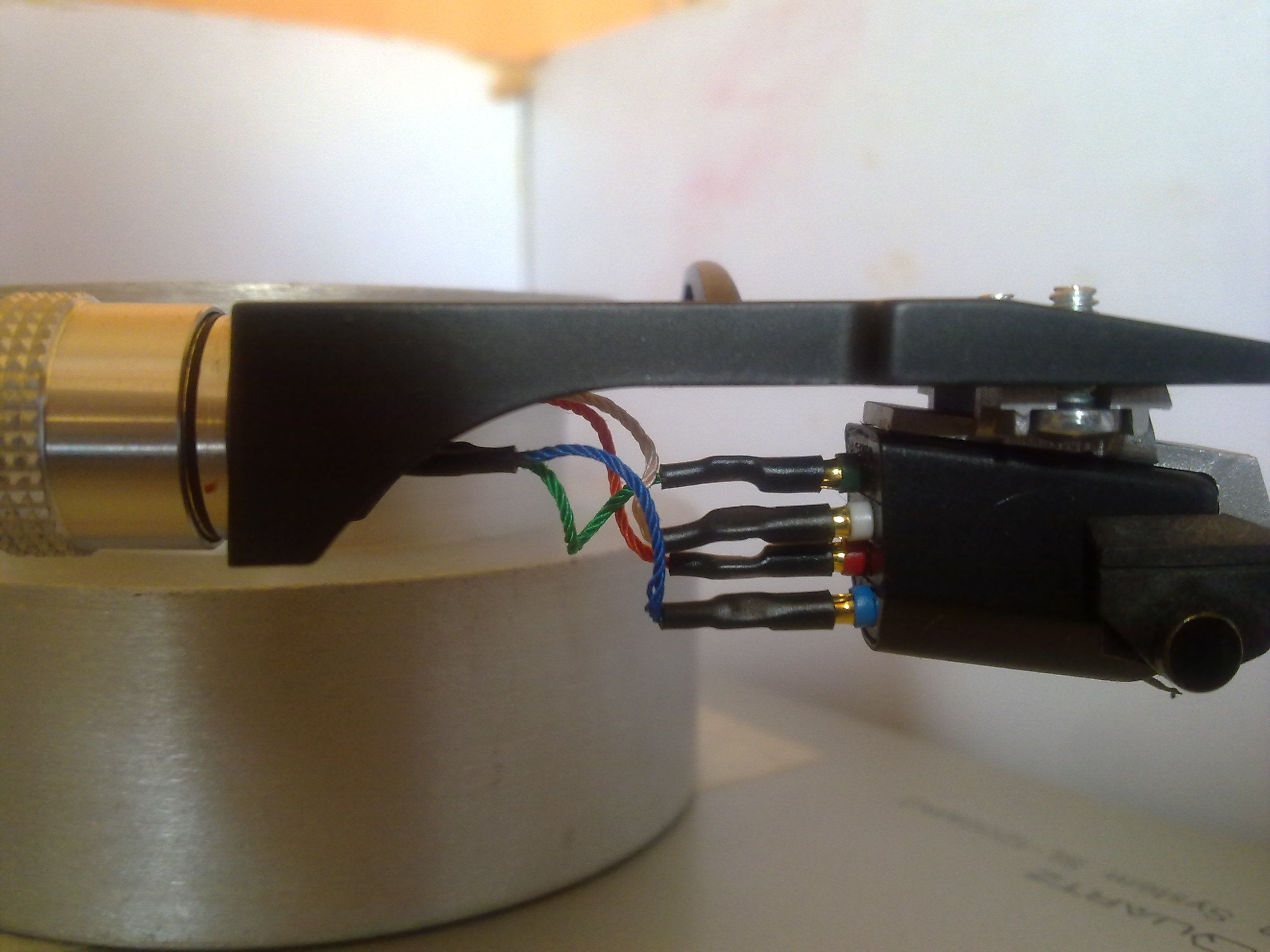 turntable cartridge wiring diagram 1976 corvette wiper success technics sl1200mkii tonearm rewire and damping