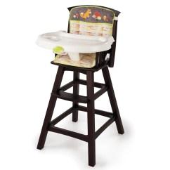 Summer High Chair Slide Under Table Infant Periquera Silla Alta Sillita Madera Comer