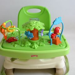 Fisher Price Rainforest Healthy Care High Chair 2 Patio Club With Ottoman Jumperoo Baby Swing Playmat Etc Ebay