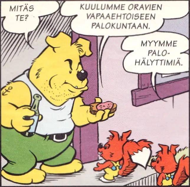 Nalle 3/1995, Helsinki Media